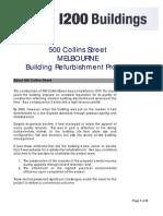 1200 Buildings MCC 500 Collins St Case Study