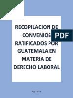 Convenios Internacionales en Derecho Laboral de Guatemala