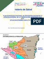 Descentralizacion Tb-mdr en Nicaragua 2 de Julio 2014año 2014