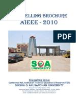 Couselling Brochure Aieee-2010