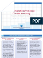 14. Comprehensive School Climate Inventory CSCI