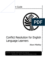 Conflict Resolution for English Language Learners