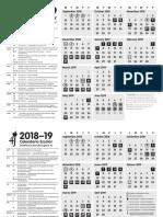 Eugene 4J calendar 2018-2019