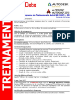 Prog Treinamento AutoCAD 2015 3D