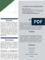Currículum Adelfa Productores, SPR de RL 26-04-17