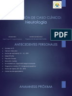 Caso Clinico Neuro
