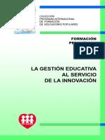 4.-La Gestión Educativa Al Servicio de La Innovación
