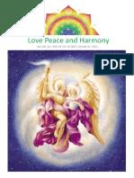 14) -1-31 Ağustos 2009 - Love Peace and Harmony Journal