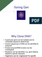 Kloning DNA