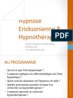 Conference Hypnose Ericksonienne