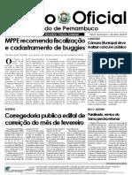 Diário Oficial - MP Janeiro 2018