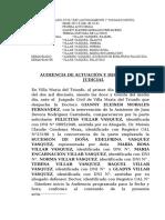 resolucion AUDIENCIA DE CONCILIACIÓN.doc