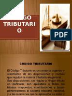 Presentación CODIGO TRIBUTARIO