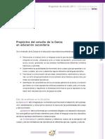 Artesec11 Propositos y Ejes
