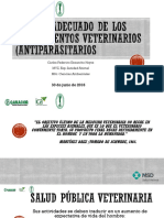 MANEJO ADECUADO DE LOS MEDICAMENTOS VETERINARIOS