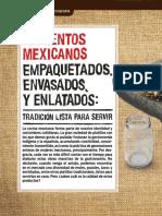 Alimentos Mexicanos Empaquetados, Envasados y Enlatados - Profeco.pdf
