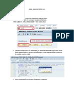 Editar ambiente de Calidad SAP