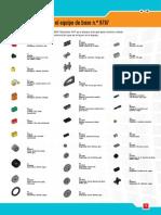 Parts List Legos