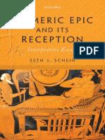 Schein - Homeric Epic and Its Reception. Interpretive Essays (2016)