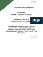 Periodos históricos del México