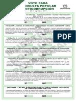 Tarjetón Electoral Consulta Final