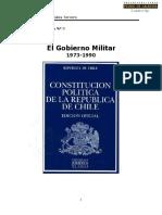 El Gobierno Militar Entre 1973 y 1990