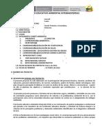 Proyecto Educativo Ambiental Integrado.modelo Sugerido 1