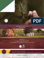Slides - PARÁBOLAS DE JESUS - Lição 8.pdf