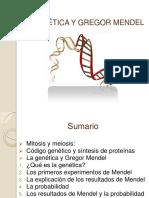 4.3 La Genética y Gregor Mendel Clase de Mañana 2
