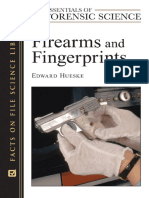 Science - Firearms And Fingerprints (Essentials Of Forensic Science) - (Edward Hueskel) Facts On File 2009.pdf