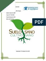 Universidad Rural de Guatemala Cultivos