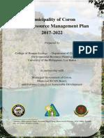 Municipality of Coron (Resource Management Plan)