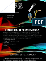 Sensores de Tº Listo