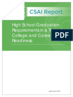 CSAIReport HSGraduationRequirements CCR 0