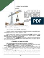 Estructuras Tecnologia Sexto Per3