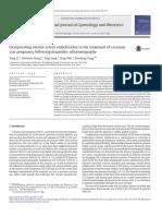 Incorporating Uterine Artery Embolization in the Treatment of Cesarean Scar Pregnancy Following Diagnostic Ultrasonography