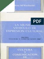 La Música, Vehículo de Expresión Cultural