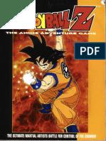 Dragonball Z RPG - Book 1 - Anime Adventure Game