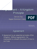 Agreement – A Kingdom Principle