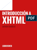 Introduccion a Xhtml