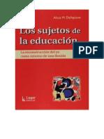 154230674 Los Sujetos de La Educación Alicia Dellepiane