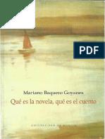 Que Es La Novela Que Es El Cuento_cuento