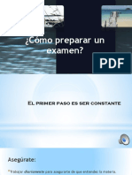 5. Co Mo Rendir Un Examen