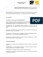 Carta Compromiso Reglamento