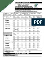 Birth Application Form