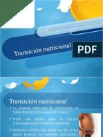 Transicion Nutricional Salud Publica
