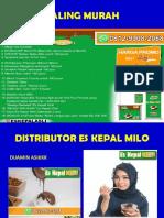 NIKMATI UNTUNGNYA, WA 0812-9908-2068, Paket Usaha Es Kepal Milo,Bandung Kulon-BANDUNG