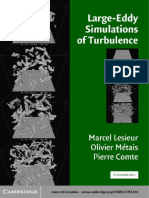 Large-Eddy Simulations of Turbulence - Lesieur Et Al