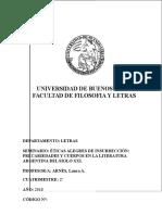 Literatura Argentina Del Siglo XXI-ARNÉS