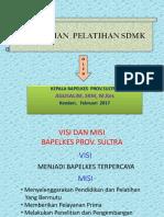 Kebutuhan Pltihan Sdmk 2017 Pak Agus Salim